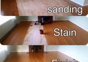 Sanding, Staining, and Finishing